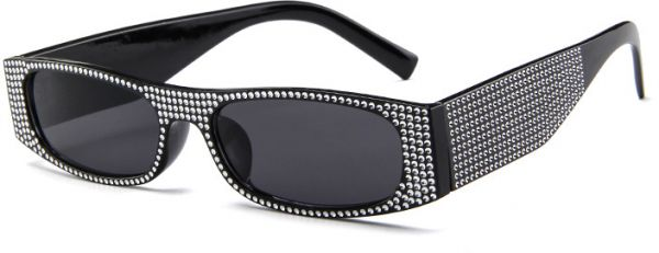 fc1fa72144ed Rhinestone Studded Elegant Jeweled Vintage Cat Eye Sunglasses Women Diamond  Shades. by Other