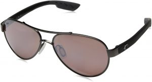 079357893ac Costa del Mar Women s Loreto Polarized Iridium Aviator Sunglasses