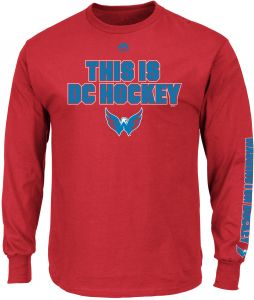 Profile Big   Tall NHL Washington Capitals Adult men NHL Big   Tall Long  Sleeve Tee 2da80a5f3