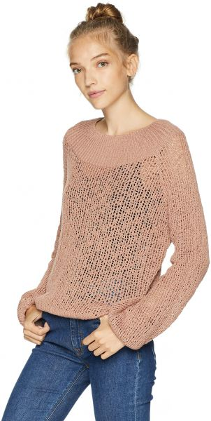 Billabong Womens Rolled Up Sweater Sandy Toes M Souq Uae