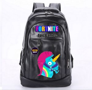 Fashion Fortnite Games Epic Student School Bags Casual Leather Backpack  Zipper College Schoolbag Travel Ruchsack Anime Animal Printed 702e2a5e48c6c