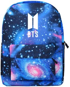 ... Starry Sky Galaxy Printed Casual Canvas Backpack School Bags Bookbag  Children Fashion Shoulder Bag Students Travel Rucksack for Women Men  Teenagers 5ed62047a4a42