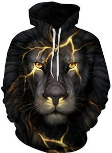 274067f9bfc Colorful lion Hoodies For Women Men fashion Streetwear Clothing Hooded  Sweatshirt 3d Print Hoody casual Pullover mm