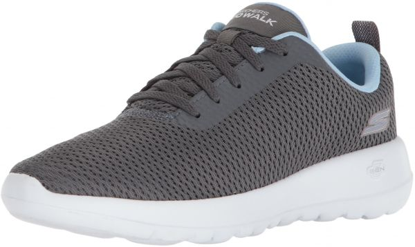 be600a7c93e27 Skechers Women's Go Walk Joy-Paradise Sneaker,Gray/Blue,7 M US | KSA | Souq