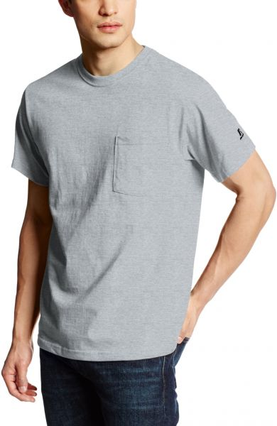 4fefced840d Russell Athletic Men's Basic Cotton Pocket T-Shirt, Oxford, Small ...