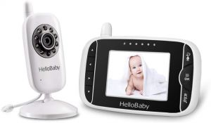 a3cd769a3ce2e HelloBaby Video Baby Monitor with Remote Camera Pan-Tilt-Zoom
