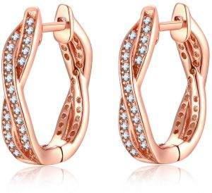 3b4156b6b Buy hoop earrings | Mestige,Amazon Collection,Qings | KSA | Souq