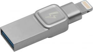 Kingston Bolt USB 3.0 Flash Drive Memory Stick for Apple iPhone & iPads with iOS 9.0+, External Expandable Memory Storage, DataTraveler Bolt Duo, ...