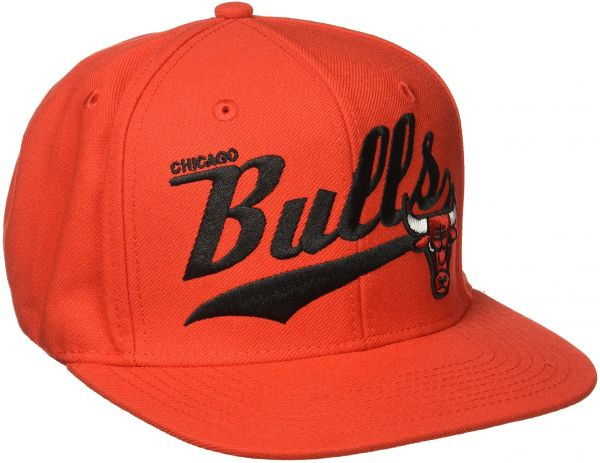 1446cb88cd5 NBA Chicago Bulls Men s Tail Sweep Flat Brim Snapback Hat