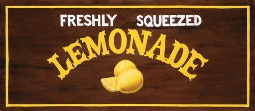 Buyartforless Fresh Squeezed Lemonade By Madison Michaels 8 X 20 Art
