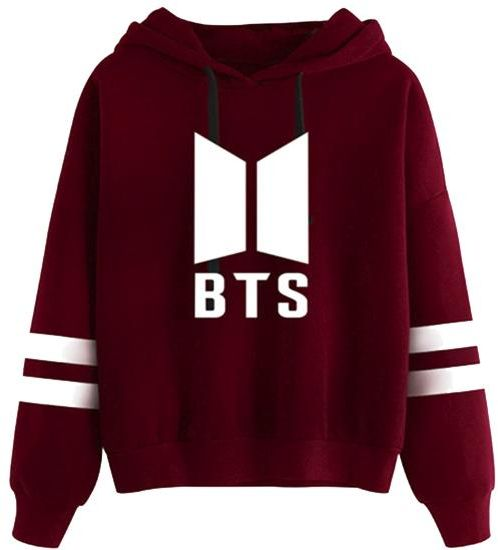 a838744e7a BTS bullet-proof youth group LOVE YOURSELF tour peripheral support dress  with hooded hooded female