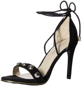 4091da770ee1c Kenneth Cole New York Women s Berry Stud Ankle-Laceup Stilleto Dress Heeled  Sandal