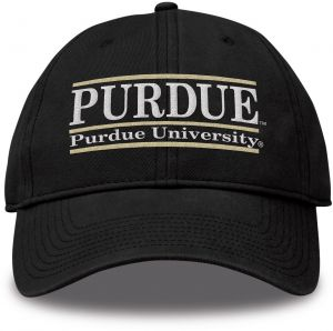 56d0b520dd6a8 The Game NCAA Purdue Boilermakers Bar Design Classic Relaxed Twil Hat