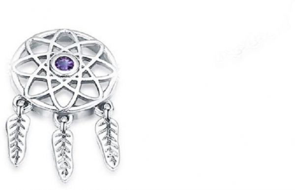 75f562428 925 Sterling Silver Dream Catcher Charm Dangle Pandora Style Bead Charms  Fit Bracelets and Necklces | Souq - UAE