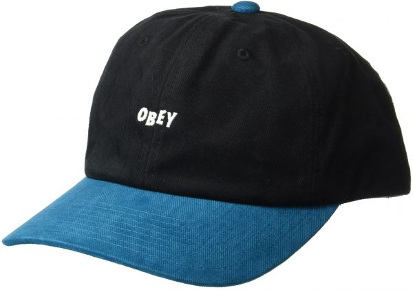 8f129de5775 Obey Men s 90 S Jumble 6 Panel Snapback Hat