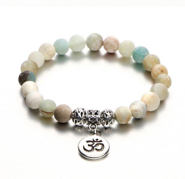 Fashion Bracelet Natural Stone Yoga Bead Exquisite Design Souq Uae