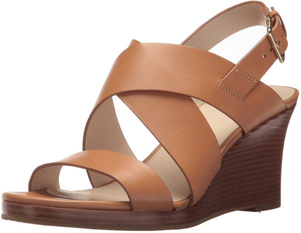 fdc6ec9518 Cole Haan Women's Penelope II Wedge Sandal, Pecan Leather, 7 B US | Souq -  UAE