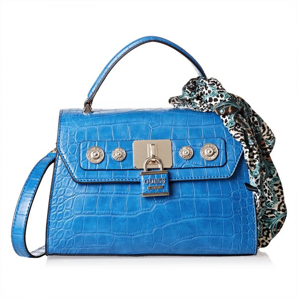 Guess Flap Bag For Women Blue