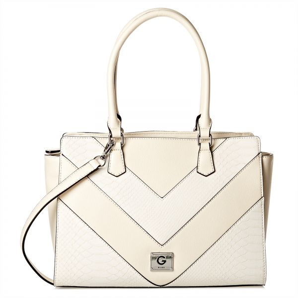 G By Guess Bag For Women Off White Satchels Bags