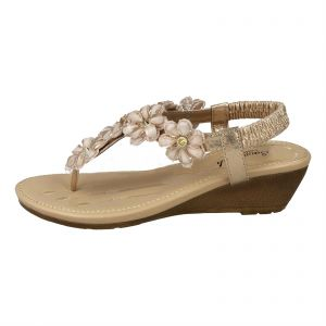 4d242b71526 Kidderminster Savannah Wedges for Women - Rose Gold