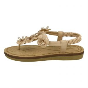 96b81f87d Kidderminster Savannah Flat Sandals for Women - Camel