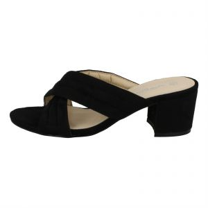 813764fcae4 Kidderminster Anne Michelle Heel Sandals for Women - Black