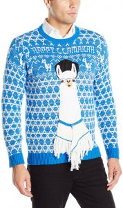 Blizzard Bay Men s Happy Llamukah Ugly Christmas Sweater f9acd6131