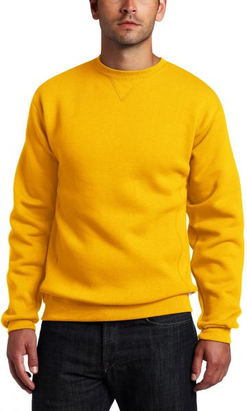 b9a012fd6 Russell Athletic Men's Dri-Power Fleece Sweatshirt, Gold, Large. by Russell  Athletic, Sportswear - Be the first to rate this product