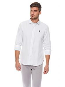 aff826dc48d Timberland Stripe Oxford Slim Shirt For Men - White