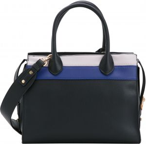 830f0f1332ac Carpisa NATASHA V3 Black Electric Blue ARM TOTE