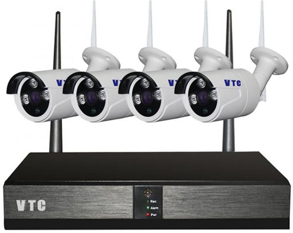 960P Wireless Security Camera System Outdoor Full HD 4 Channel Network Video Recorder Surveillance System