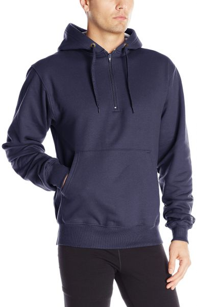 35632e83f2aa Champion Men s Heavy Weight Quarter Zip Fleece Hoodie