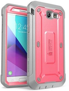 0b2a2baf937 Galaxy J3 Emerge Case, SUPCASE Unicorn Beetle PRO Series Full-body Rugged  Holster Case with Built-in Screen Protector for Samsung Galaxy J3 Emerge  (2017 ...