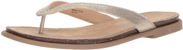 4e6788a55bfb9f Kenneth Cole REACTION Women s Jel Ing Flat Thong Sandal with Comfort ...