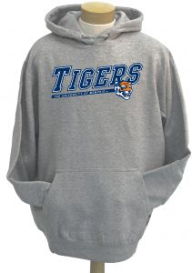 new product 6bc82 e4792 NCAA Men s Memphis Tigers Zooey Hooded Sweatshirt (Athletic Heather Grey,  Large)