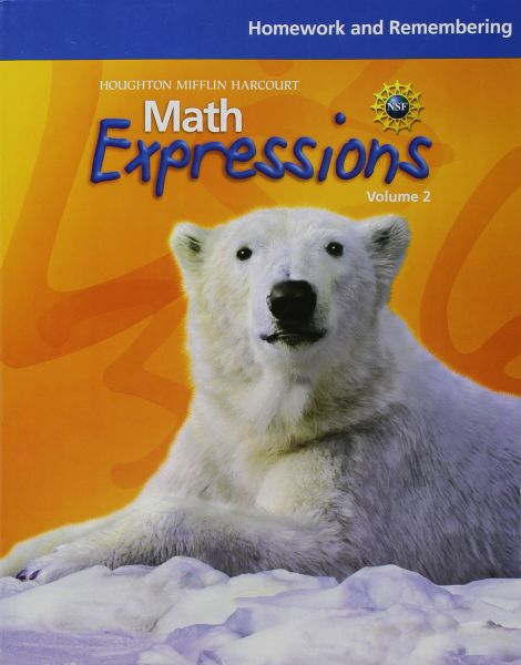 Math Expressions Homework And Remembering Consumable Volume 2