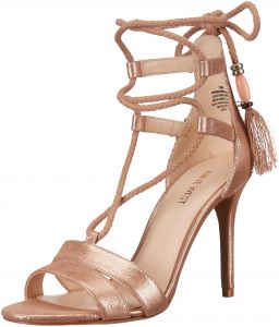 e03e33cdaf98 Nine West Women s Mangalara Metallic Dress Sandal