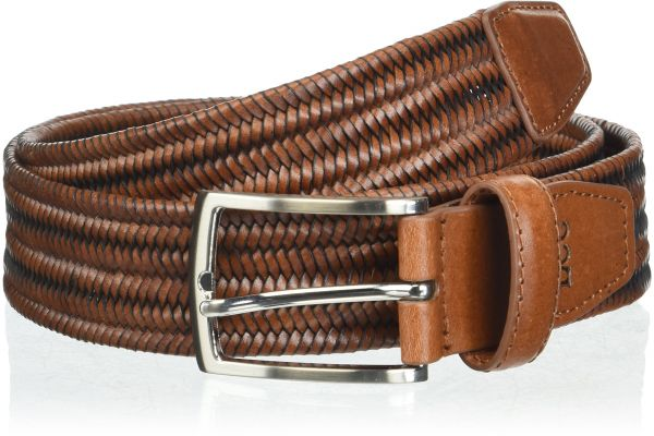 Lee Accessories Men S Extreme Comfort Stretch Braid Leather Belt