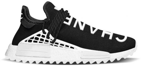 fbe0a2d0549d8 Pharrell Williams x Chanel x adidas NMD Human Race Black
