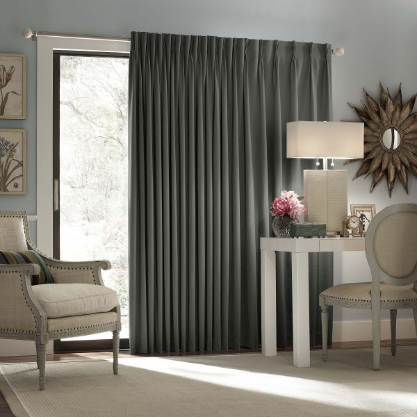 Eclipse Thermal Blackout Patio Door Curtain Panel 100 Inch X 84