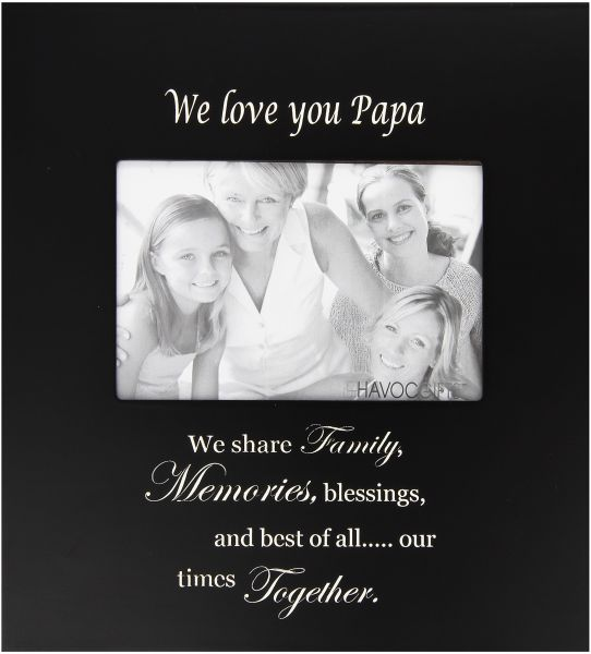 Infusion Gifts 9026-LB We Love You Papa with Verse Photo Frame ...