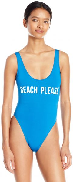 d6d0bbe70b Bikini Lab Junior s What s The Word Chic Happens One Piece Swimsuit ...