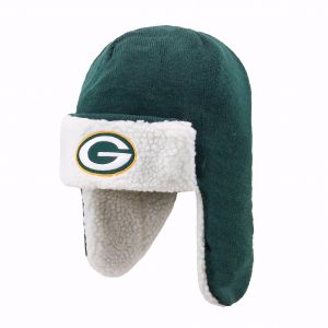 5be24a74a1 OTS NFL Green Bay Packers Breck Sherpa Hunter Knit Cap