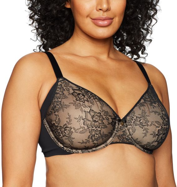 2af0d4f5a53bb Curvy Couture Women s Plus Size Flawless Lace Underwire Bra