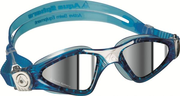 dac9c388fc Aqua Sphere Smaller Fit Kayenne with Low Profile Mirrored Lens Goggles