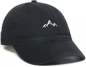 ed30ad4948818 Outdoor Cap Adult Mountain Dad Hat-Unstructured Soft Cotton Cap