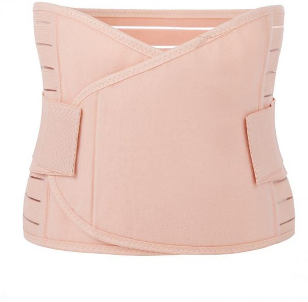 e923157b49 Postpartum Girdle Support Recovery Belly Band Corset Wrap Body Shaper for After  Birth Postnatal C-Section Waist Pelvis Shapewear for Women (Pink)