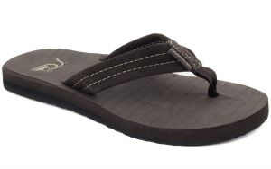 f13af86ac Quiksilver Men s Carver Suede 3-Point Flip-Flop