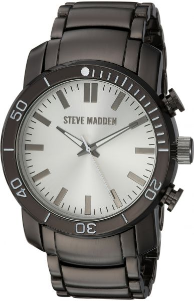8cc70eab1df Steve Madden Men s Quartz Stainless Steel and Alloy Dress Watch ...