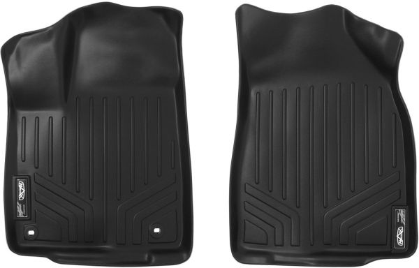 Maxfloormat Floor Mats 1st Row Set Black For 2014 2018 Toyota